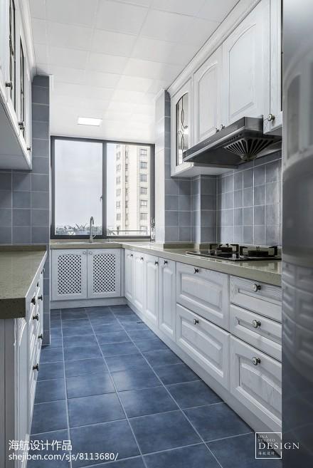 雅致美式厨房设计图片餐厅