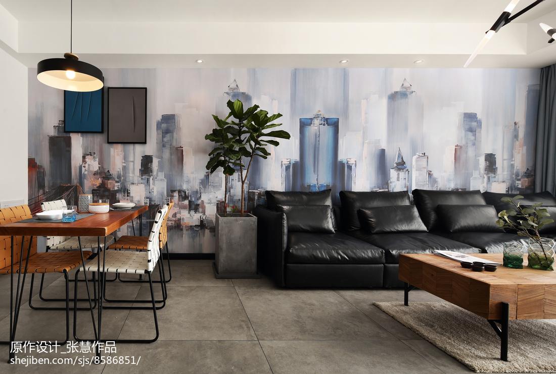 现代客厅壁画