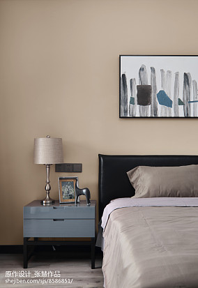 现代卧室画