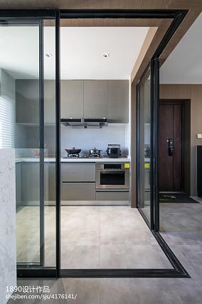 2018精选96平米三居厨房简约装饰图片大全