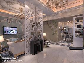 精美111平米欧式别墅客厅装饰图片欣赏