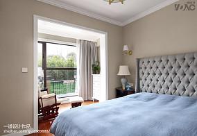 明亮250平美式别墅卧室装修图卧室美式经典设计图片赏析