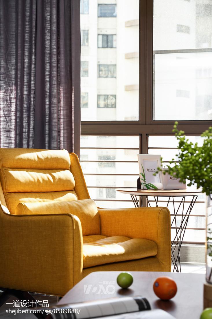 2018精选102平米三居客厅现代装修设计效果图客厅
