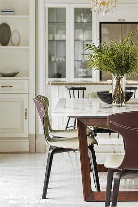 热门别墅餐厅效果图片厨房欧式豪华设计图片赏析
