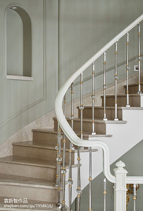 优雅491平法式别墅装修案例别墅豪宅欧式豪华家装装修案例效果图