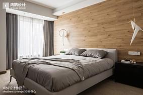 大气86平现代三居装饰美图三居现代简约家装装修案例效果图