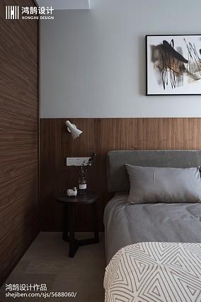 热门面积100平现代三居卧室装修实景图片大全三居现代简约家装装修案例效果图