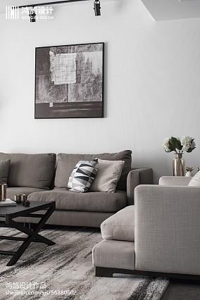 质朴96平现代三居客厅图片欣赏三居现代简约家装装修案例效果图