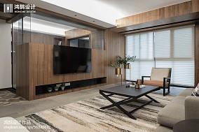 明亮122平现代三居装修图片三居现代简约家装装修案例效果图