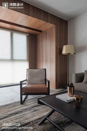 热门104平方三居客厅现代效果图片