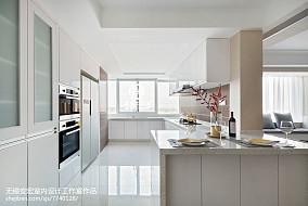 平米三居厨房现代装修设计效果图片欣赏餐厅现代简约设计图片赏析