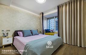 精选90平米三居卧室现代装修图片欣赏