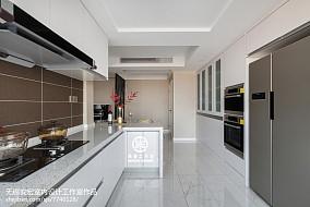 2018精选面积103平现代三居厨房效果图片大全餐厅现代简约设计图片赏析