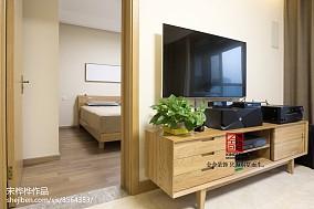 热门90平米三居客厅北欧装修欣赏图片