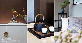 大气600平中式别墅效果图片大全别墅豪宅中式现代家装装修案例效果图