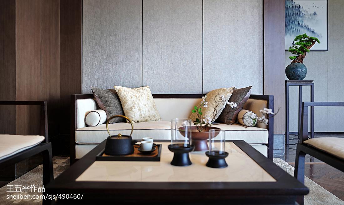 平方中式别墅客厅效果图客厅中式现代客厅设计图片赏析