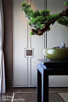 热门中式别墅过道效果图片欣赏别墅豪宅中式现代家装装修案例效果图