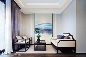 中式别墅休闲区效果图片欣赏别墅豪宅中式现代家装装修案例效果图