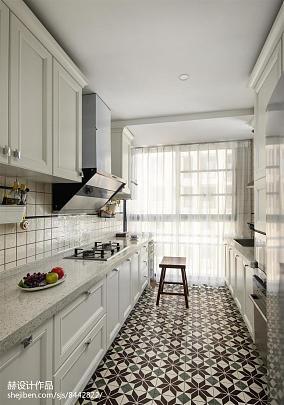 明亮72平混搭复式厨房设计案例餐厅潮流混搭设计图片赏析