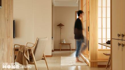 优美94平日式三居客厅图片大全