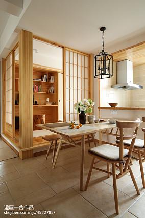 日式风格餐厅实景图