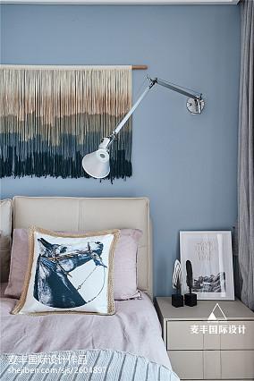 精选72平米二居卧室北欧装修设计效果图片大全