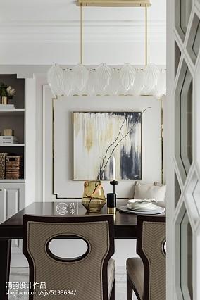 热门面积117平美式四居客厅装修设计效果图片欣赏