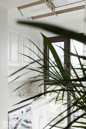 2018精选美式四居阳台装修设计效果图片大全