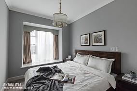 大小115平美式四居卧室装修欣赏图