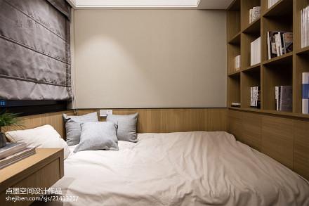 精美面积91平中式三居卧室装修图片