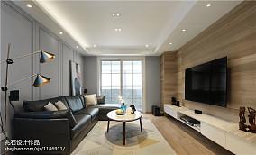 2018111平米四居客厅现代装修效果图片欣赏