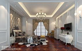 精美新古典别墅卧室装修实景图片欣赏