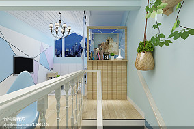 威海宜家花园220复式现代黑白灰风格装修    全包含后期软装及装饰品36万_3170079