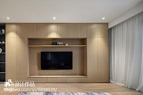 精选面积132平复式客厅北欧装修实景图片大全复式北欧极简家装装修案例效果图