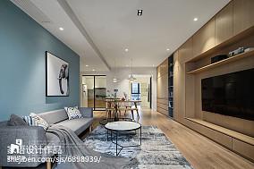 平米北欧复式客厅装饰图片复式北欧极简家装装修案例效果图