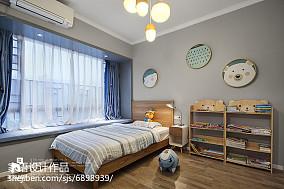 复式儿童房北欧装修实景图片欣赏复式北欧极简家装装修案例效果图