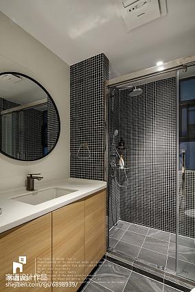 2018精选面积133平复式卫生间北欧装饰图片大全复式北欧极简家装装修案例效果图