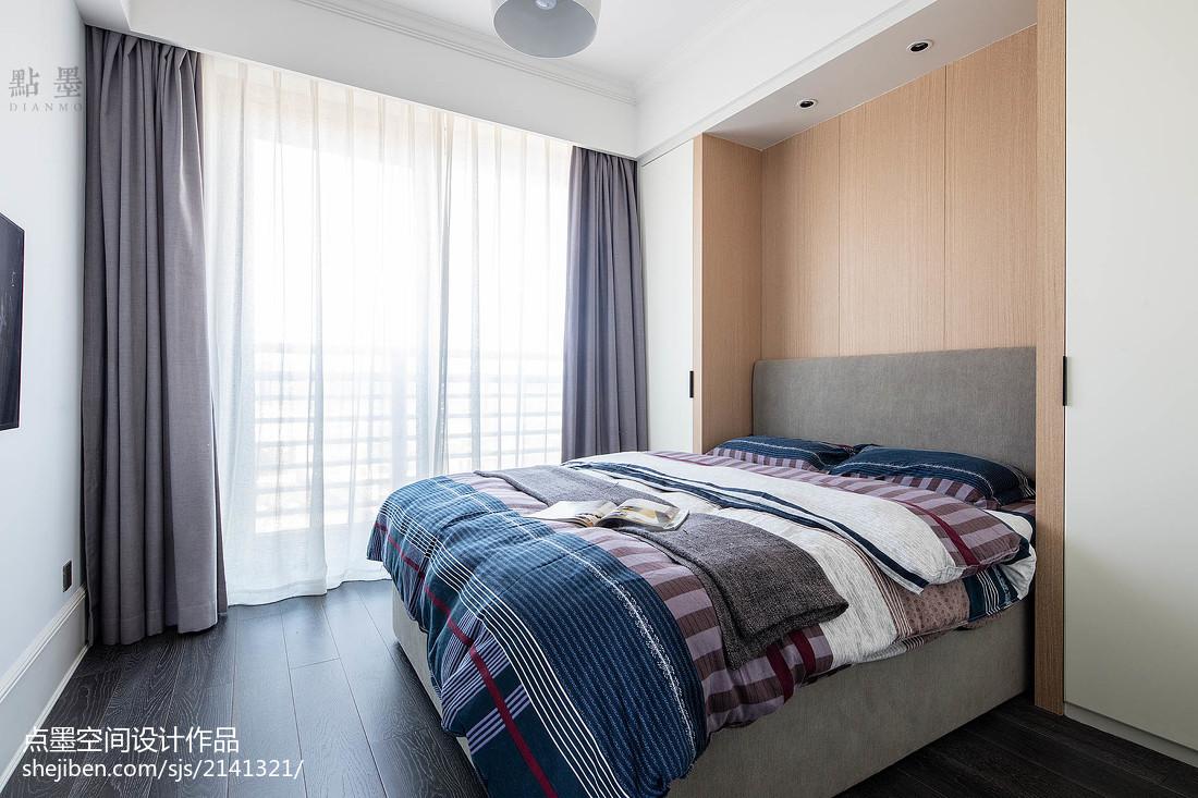 精美92平米三居卧室混搭装修图片卧室