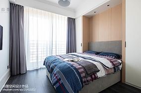 精美92平米三居卧室混搭装修图片