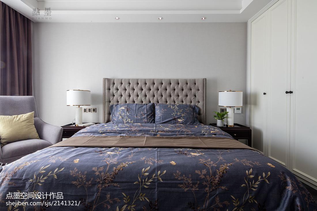 精选大小96平混搭三居卧室装修设计效果图片欣赏卧室