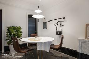 2018精选77平米二居餐厅北欧装修设计效果图二居北欧极简家装装修案例效果图