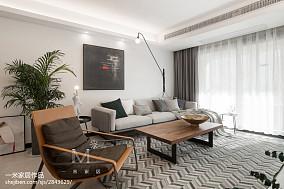 精美北欧四居客厅装修欣赏图片大全四居及以上北欧极简家装装修案例效果图