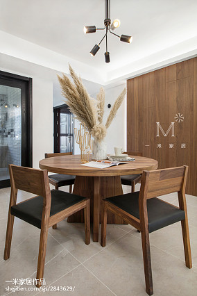 精美面积133平北欧四居餐厅装饰图片欣赏四居及以上北欧极简家装装修案例效果图