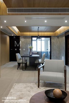 温馨152平现代四居装饰美图四居及以上现代简约家装装修案例效果图