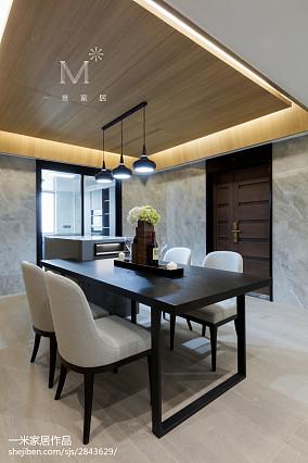 平现代四居装修图四居及以上现代简约家装装修案例效果图