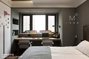 温馨158平现代四居装修效果图四居及以上现代简约家装装修案例效果图