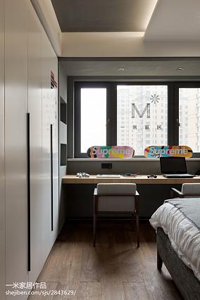 质朴151平现代四居装修美图四居及以上现代简约家装装修案例效果图
