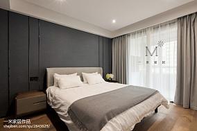 热门116平方四居卧室现代效果图片大全家装装修案例效果图