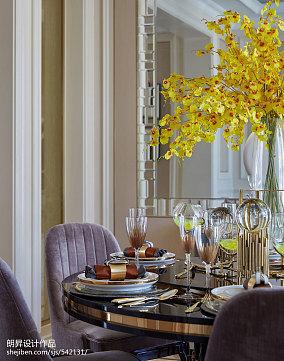 2018餐厅欧式欣赏图样板间欧式豪华家装装修案例效果图