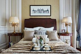 温馨279平欧式样板间卧室装修图样板间欧式豪华家装装修案例效果图